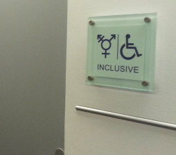 Inclusive bathrooms at the Department of Environment and Energy in Canberra.