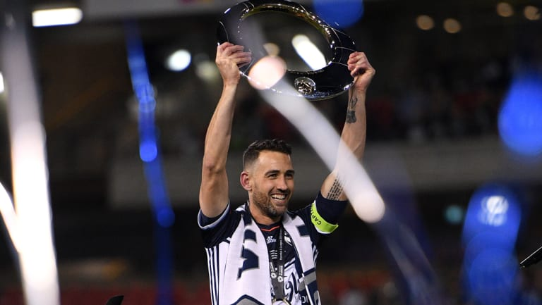 Melbourne Victory will be the hunted this season after winning their fourth title in 2017-18.
