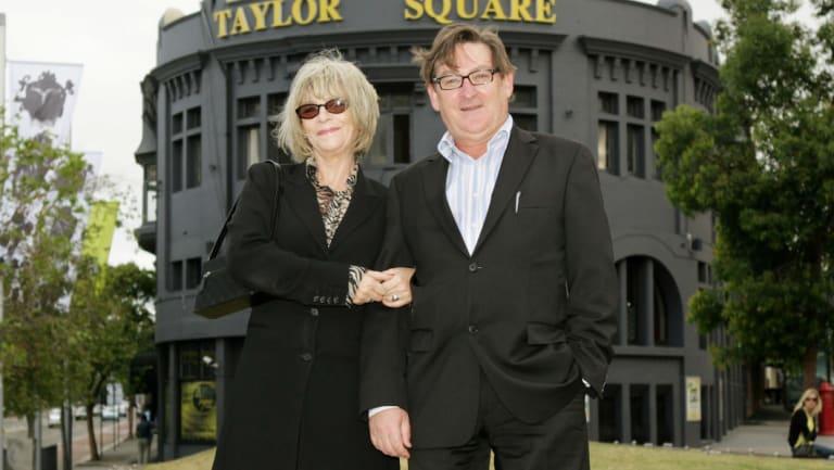 Julie Bates and Professor Basil Donovan  in 2007.