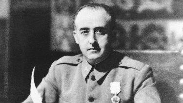 General Francisco Franco in 1936.