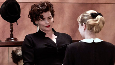 Three early awards: Julia Ormond (left) and Angourie Rice in Ladies in Black.