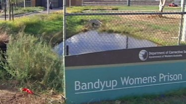 The young Aboriginal was transported naked and handcuffed from Bandyup Women's Prison to Graylands Hospital.