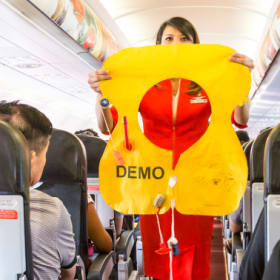 The items that are (and aren't) OK to steal from planes