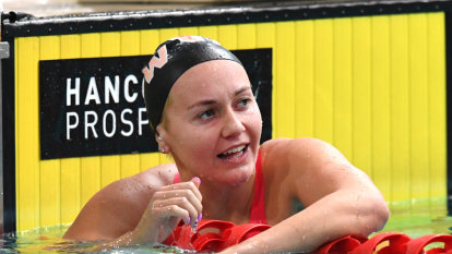 In pursuit of greatness: Ariarne Titmus ready for showdown with Ledecky
