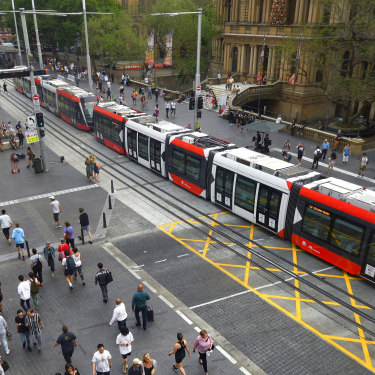Cities are remaking themselves  in Melbourne's image through copycat infrastructure projects, such as in Sydney with the reintroduction of trams.