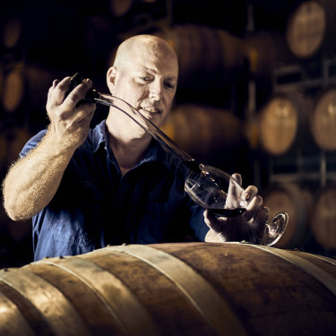 Alex Head makes modern Barossa reds with lifted spicy aromatics at Head Wines.