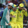 Warner, Cummins to miss rest of white-ball series against India