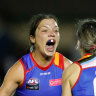 Fierce and proud: Being the Bulldogs' runner has helped me get women's footy