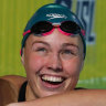 New Aussie backstroke queen falls just short of another world record