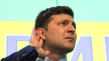 Ukraine President Volodymyr Zelensky.