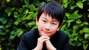 Violin prodigy Christian Li, 11, recently won the junior prize at a prestigious competition in Geneva.