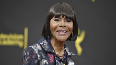 Cicely Tyson at the Creative Arts Emmy Awards in September 2019, in Los Angeles.