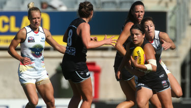 Adelaide and Carlton play in the AFLW grand final on Sunday.