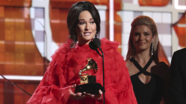 Kacey Musgraves' Golden Hour was named album of the year.