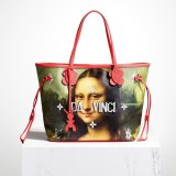 Fashion house Louis Vuitton's collaboration with New York artist Jeff Koons.