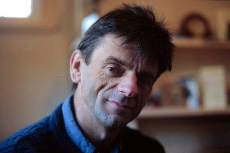 David Menadue, pictured in the 1990s, around the time treatments for HIV became widespread.