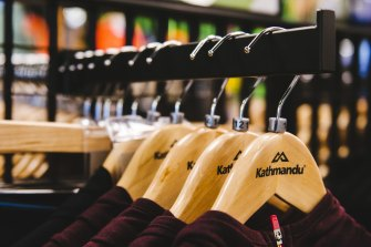 Kathmandu sales have fallen over the half as the store was heavily affected by lockdowns.