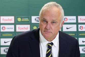 Socceroos and Olyroos coach Graham Arnold.