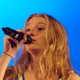 Singer-songwriter Holly Riva, 16, attends the Australian Performing Arts Grammar School.