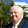 Clive Palmer's court fight with liquidators for 'greater good'