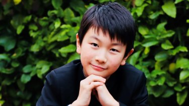 Violin prodigy Christian Li, 11, recently won the junior prize at a prestigious competition in Geneva.