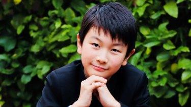 Christian Li, 11, has already won a slew of prizes.