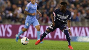 Elvis Kamsoba's goal was disallowed by VAR for offside.
