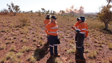 New South Flank Pilbara mine kicks off with a blast