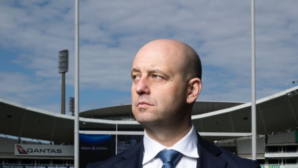How NRL CEO Todd Greenberg is quietly booting goals under pressure