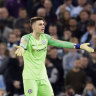 Chelsea keeper Kepa fined one weeks' wages over Wembley row