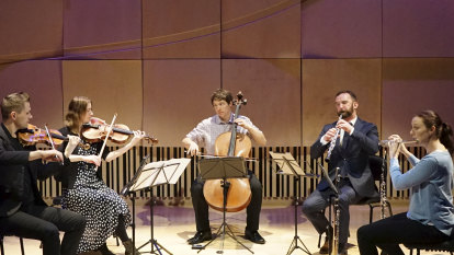 Ensemble's dedication is music to the ears of isolated older people