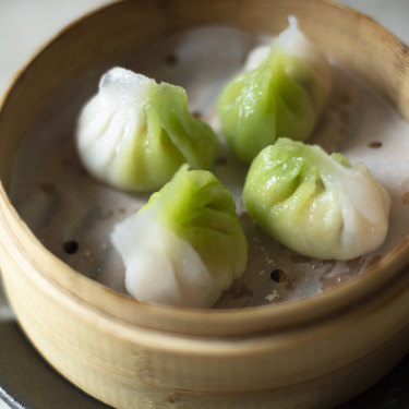 The premier's pick: Jade prawn dumplings
