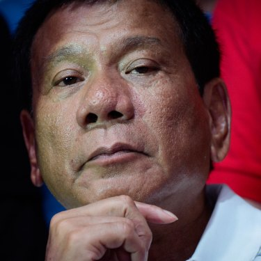 """Philippines President Rodrigo Duterte told a journalist, """"If you end up dead, it's your fault."""""""
