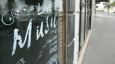 Live music venues can seek an exemption to the freeze on late-night liquor licences.