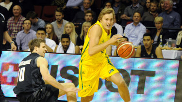 Ryan Broekhoff has joined the 76ers after two years in Dallas.