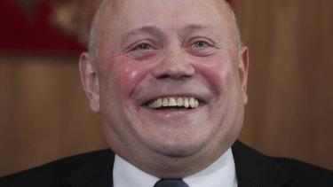 Russia's ambassador to Australia, Grigory Logvinov.