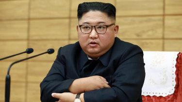 North Korean leader Kim Jong-un earlier this month.
