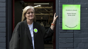 Redfern designer furniture and homewares store Koskela will close on Friday to allow staff to attend the climate strike.