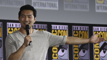 Simu Liu will star in Shang-Chi and The Legend of the Ten Rings being made by Marvel in Sydney.