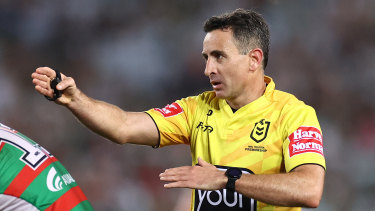 NRL grand final referee Gerard Sutton.