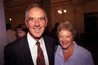 John Cain and wife Nancye.