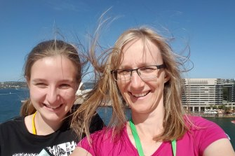Julie Richards, 47, and Jessica Richards, 20, pictured in 2015.