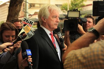 Solicitor Chris Murphy is suing The Daily Telegraph for defamation.