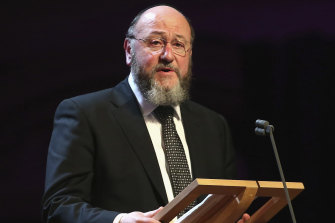 Chief rabbi Ephraim Mirvis wrote an article during the election campaign which was scathing of the way the Labour leader dealt with anti-Semitism within the party.