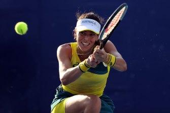 Ajla Tomljanovic will spearhead Australia's Billie Jean King Cup campaign.