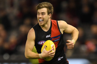 Zach Merrett has been left out of Essendon's leadership group.