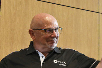 Nuix is now trading below its IPO price from December last year and has halved since January but CEO Rod Vawdrey said it will hit its prospectus forecasts.