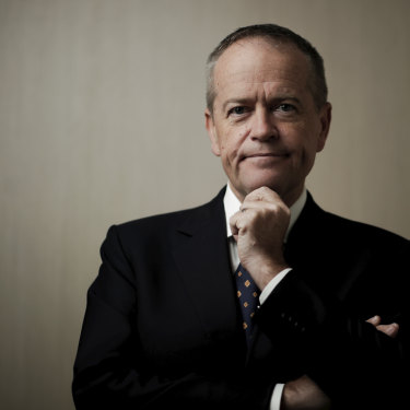 Opposition Leader Bill Shorten in Canberra during the election campaign.