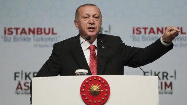 Turkish President Recep Tayyip Erdogan talks about Saudi journalist Jamal Khashoggi's killing.