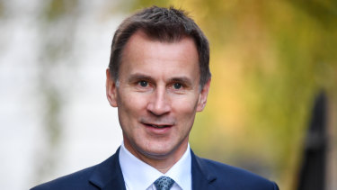 Jeremy Hunt, UK Foreign Secretary.